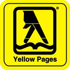 Find us in the Yellow Pages